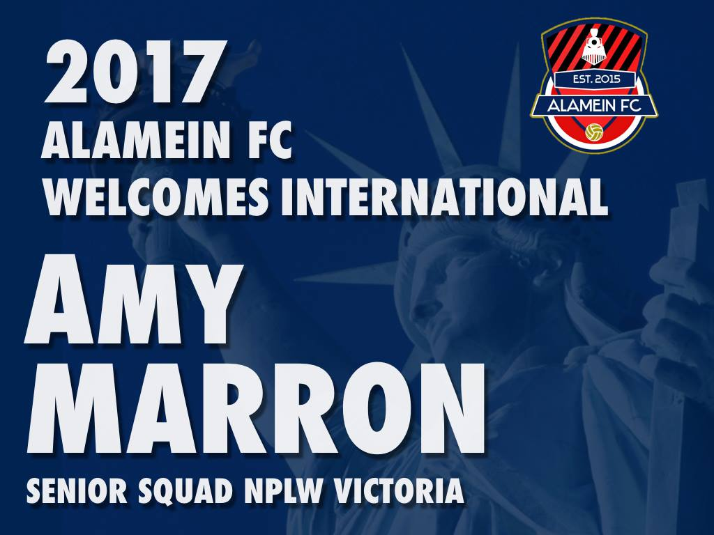 Amy Marron announcement