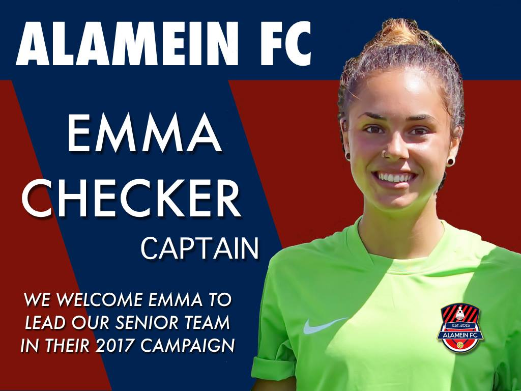 EMMA CHECKER ANNOUNCEMENT announcement