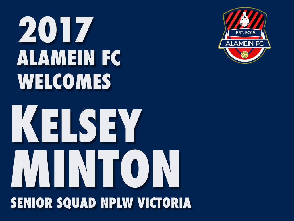 KELSEY MINTON ANNOUNCEMENT